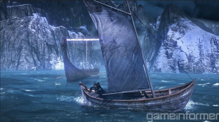 Witcher 3 Boat