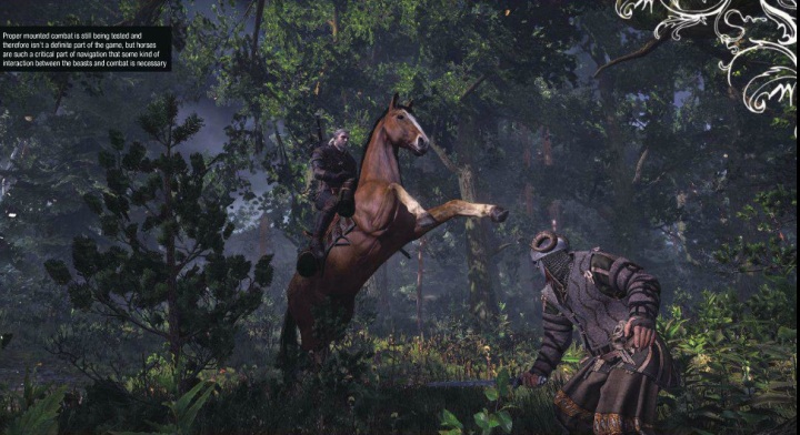 Witcher 3 horse