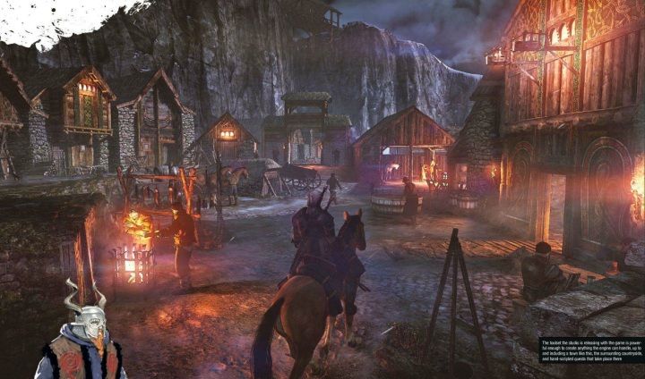 Witcher 3 town
